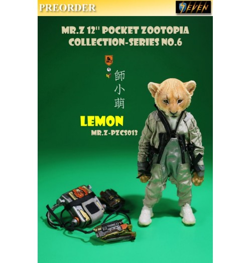"PREORDER: Mr.Z 7"" Pocket Zoo Collection S6 Lemon: Boxset"